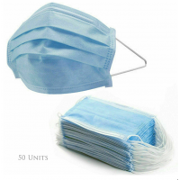 General medical 3-Ply Hygiene Face Mask (NOT for surgical use), 50 units per boxEN14683 Approved