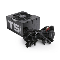 POWER SUPLY 650W XFX TS SERIES FULL WIRED 80 + BRONZE (s / cable) P1650SNLB9