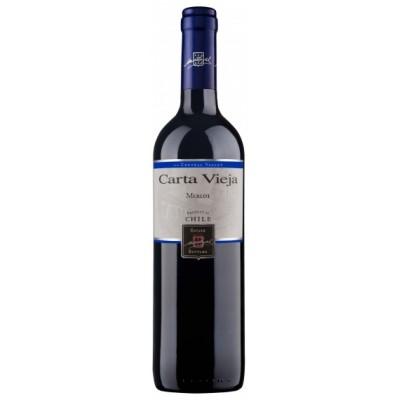 RED WINE CARTA VIEJA CLASSIC MERLOT 2015 6X750ML