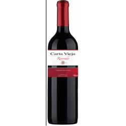 RED WINE CARTA VIEJA RESERVED CABERNET SAUVIGNON 2015 6X750ML