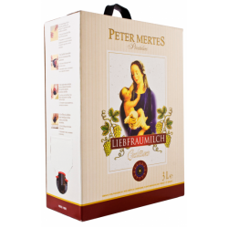 WHITE WINE LIEBFRAUMILCH PETER MERTES BAGINBOX 4X3L