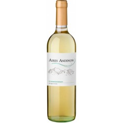 WHITE WINE AIRES ANDINOS CHARDONNAY 6X750ML
