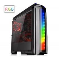 CABINET TT VERSA C22 RGB BLACK / SPCC / FULL WINDOW CA-1G9-00M1WN-00
